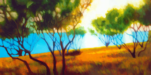 "Aegean Afternoon (24"" x 48"")"