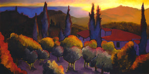 "Casa Cares Sunset (30"" x 60"")"