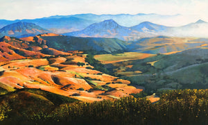"From Cuesta Ridge (20"" x 32"")"
