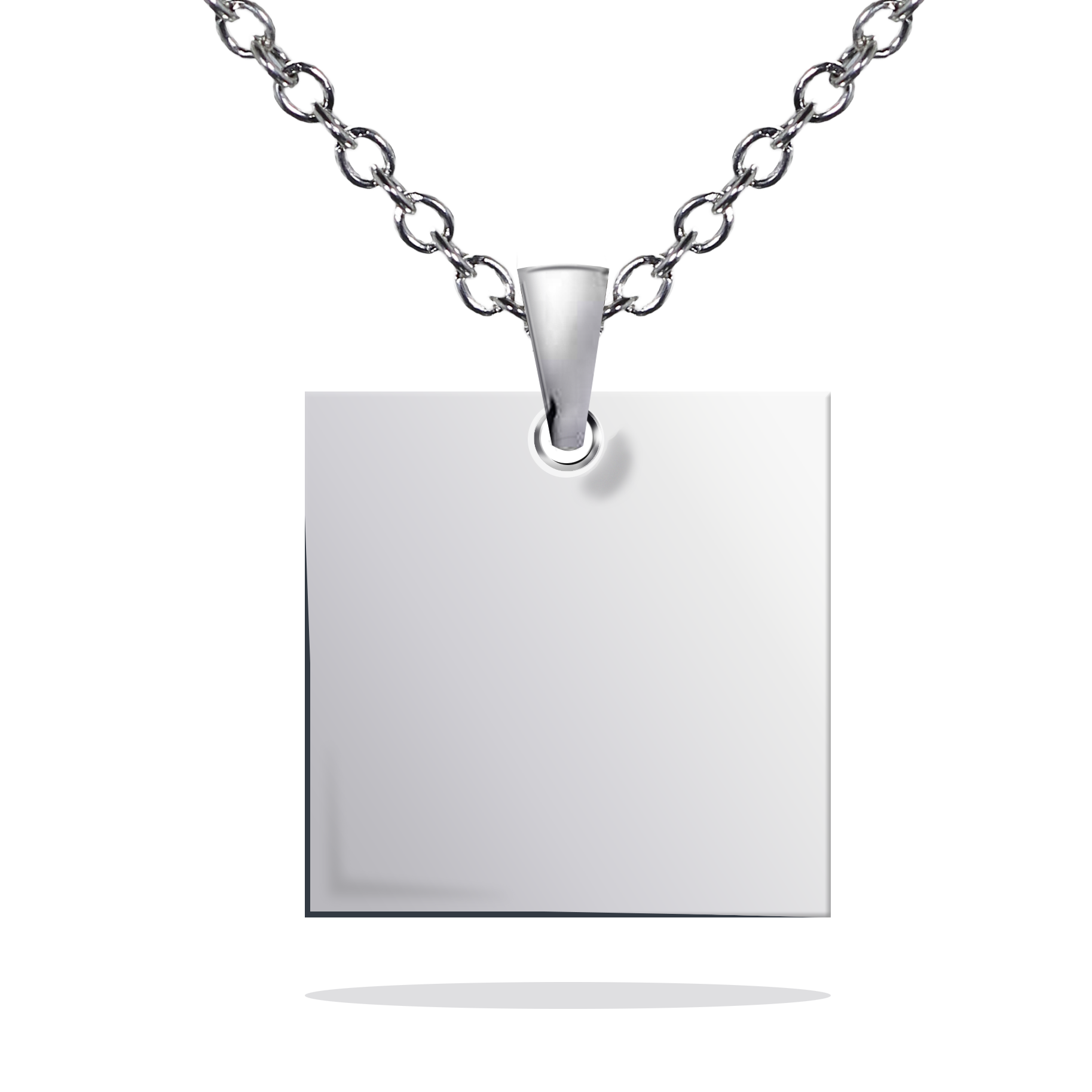 square timeless necklace