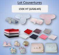 Lot COUVERTURES