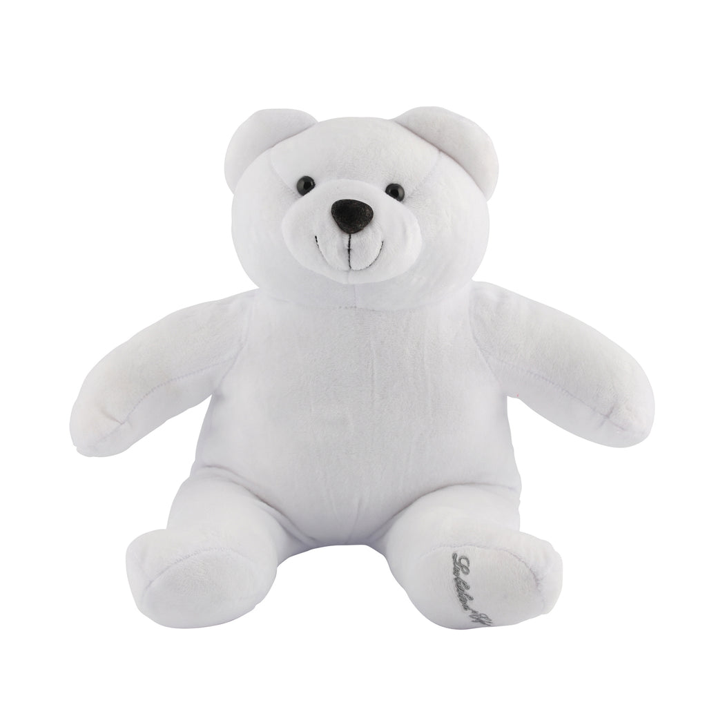 peluche gros ours blanc