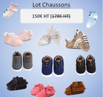 Lot Chaussons