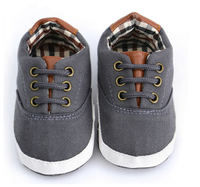 CHAUSSONS SNEAKERS gris