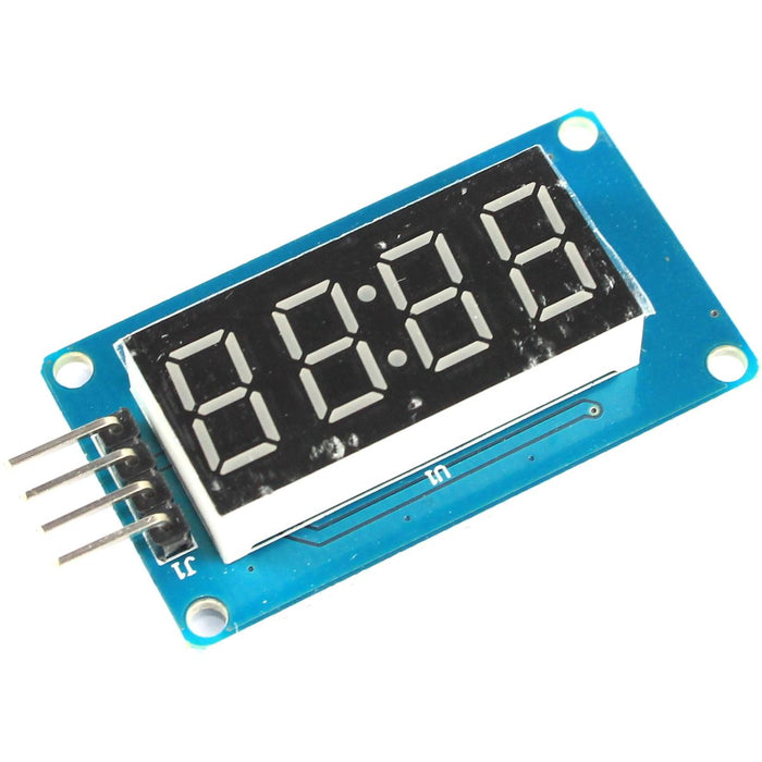 4 Digit Red 7 Segment LED Module