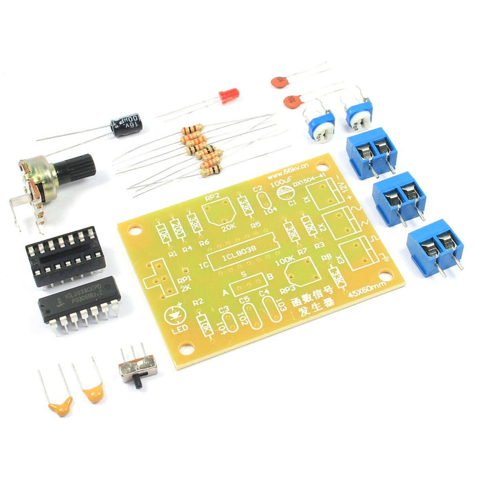 ICL8038 Function Signal Generator DIY Kit