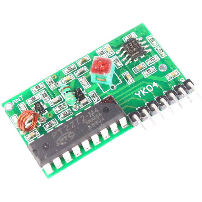 IC2262/2272 433Mhz 4 Channel Remote Control Receiver Kit