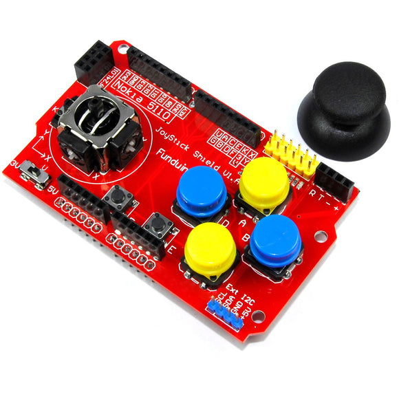 Funduino Joystick Keypad Shield