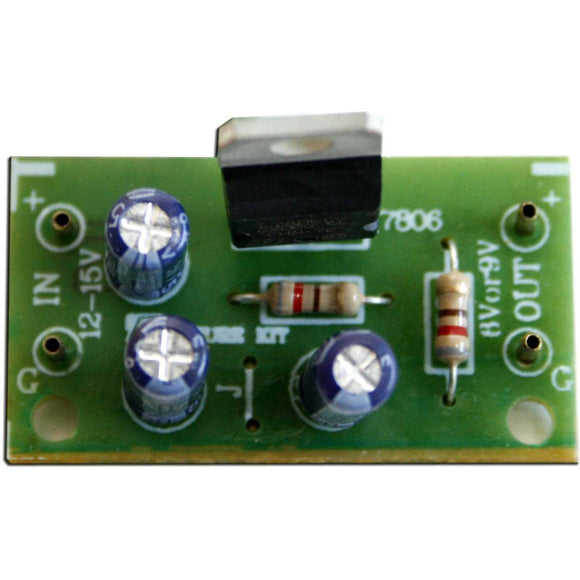 Future Kit 12V to 6V Step Down Regulator DIY Kit