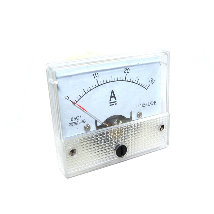 85C1-30A Analog Ammeter - 65x56mm