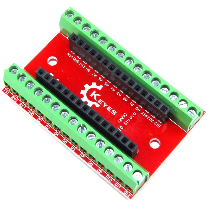 Keyes Screw Terminal Breakout Shield