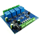 LC Technology RS485 TTL Relay Module (Modbus-compatible) - 1 2 4 ch.
