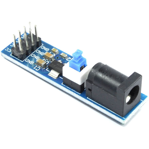 LC Technology 5.5mm DC Jack to 3.3V Breakout Module