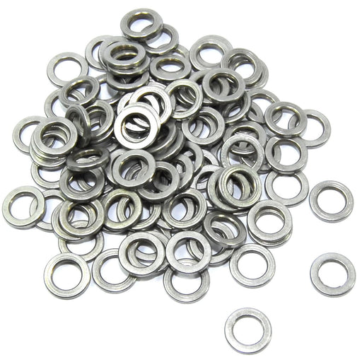 100pcs 5x8x1mm Shim Aluminium Spacer