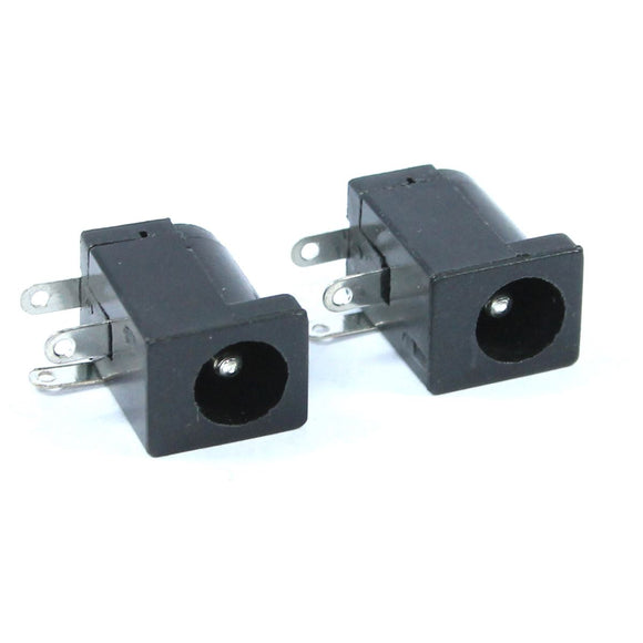2pcs Female 5.5x2.1mm Power Jack Socket