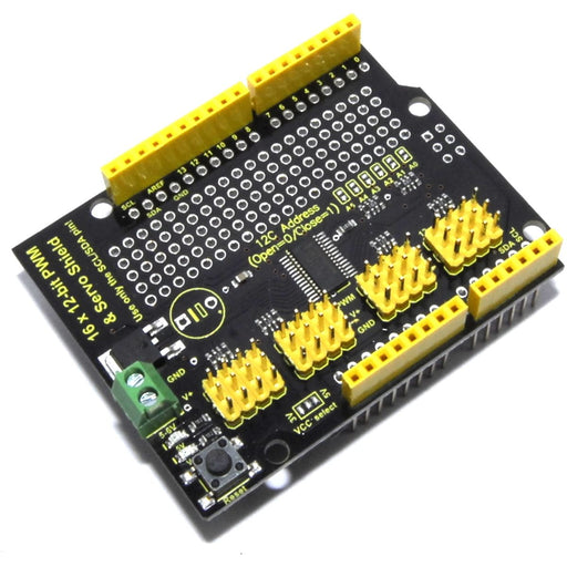 Keyestudio 16 Ch 12 Bit PWM LED Servo Shield