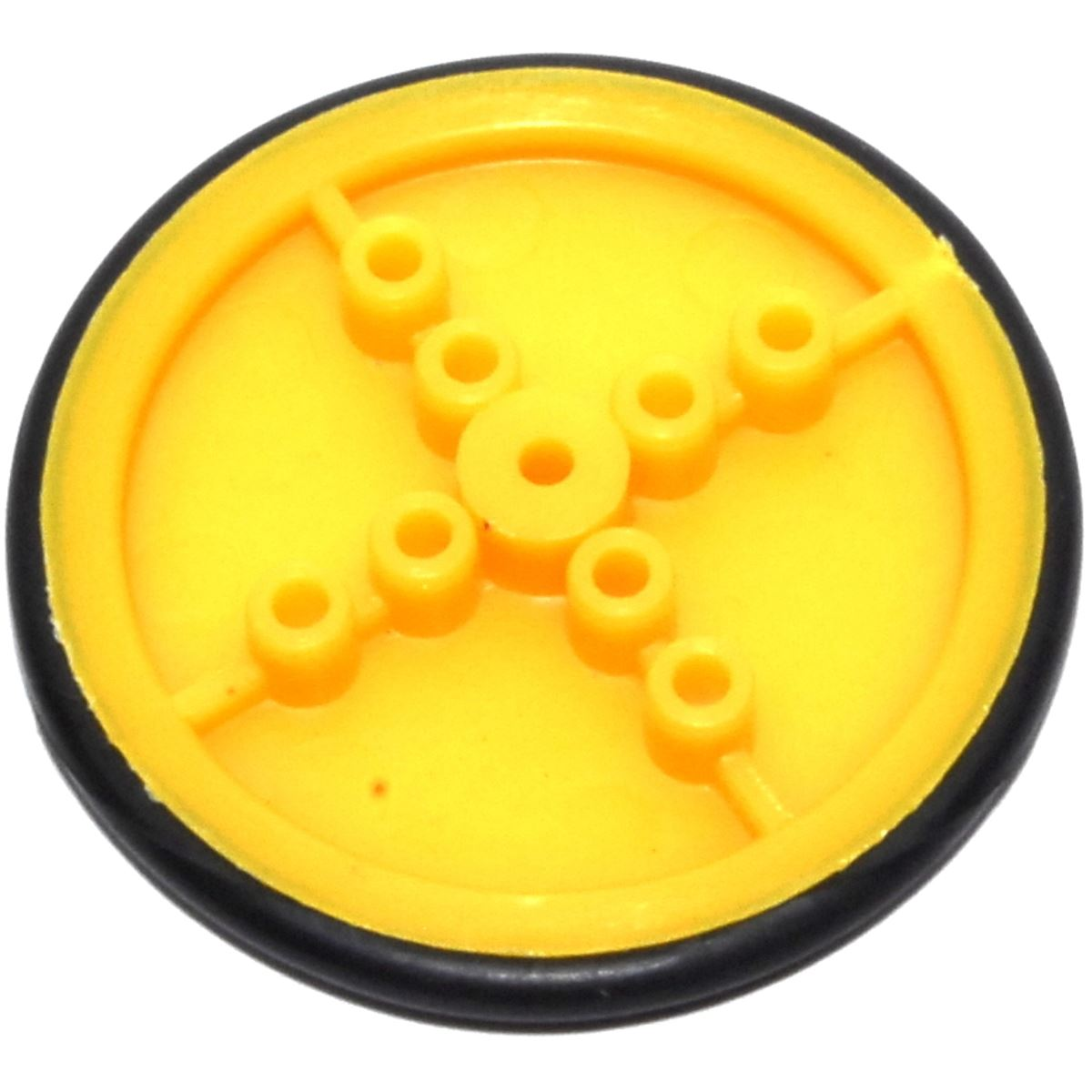 37.5mm Yellow Wheel