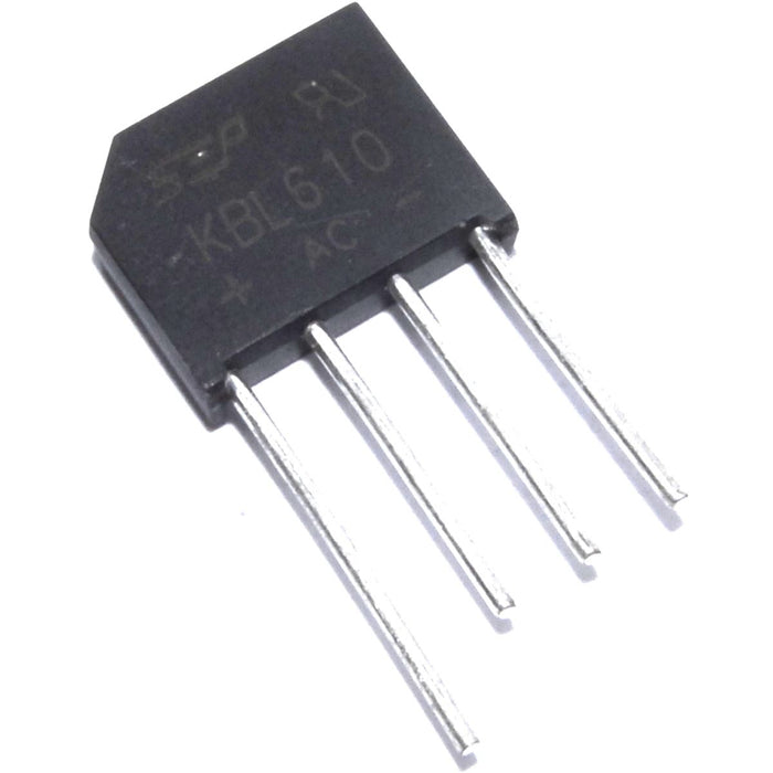 KBL610 6A Single-Phase Silicon Bridge Rectifier