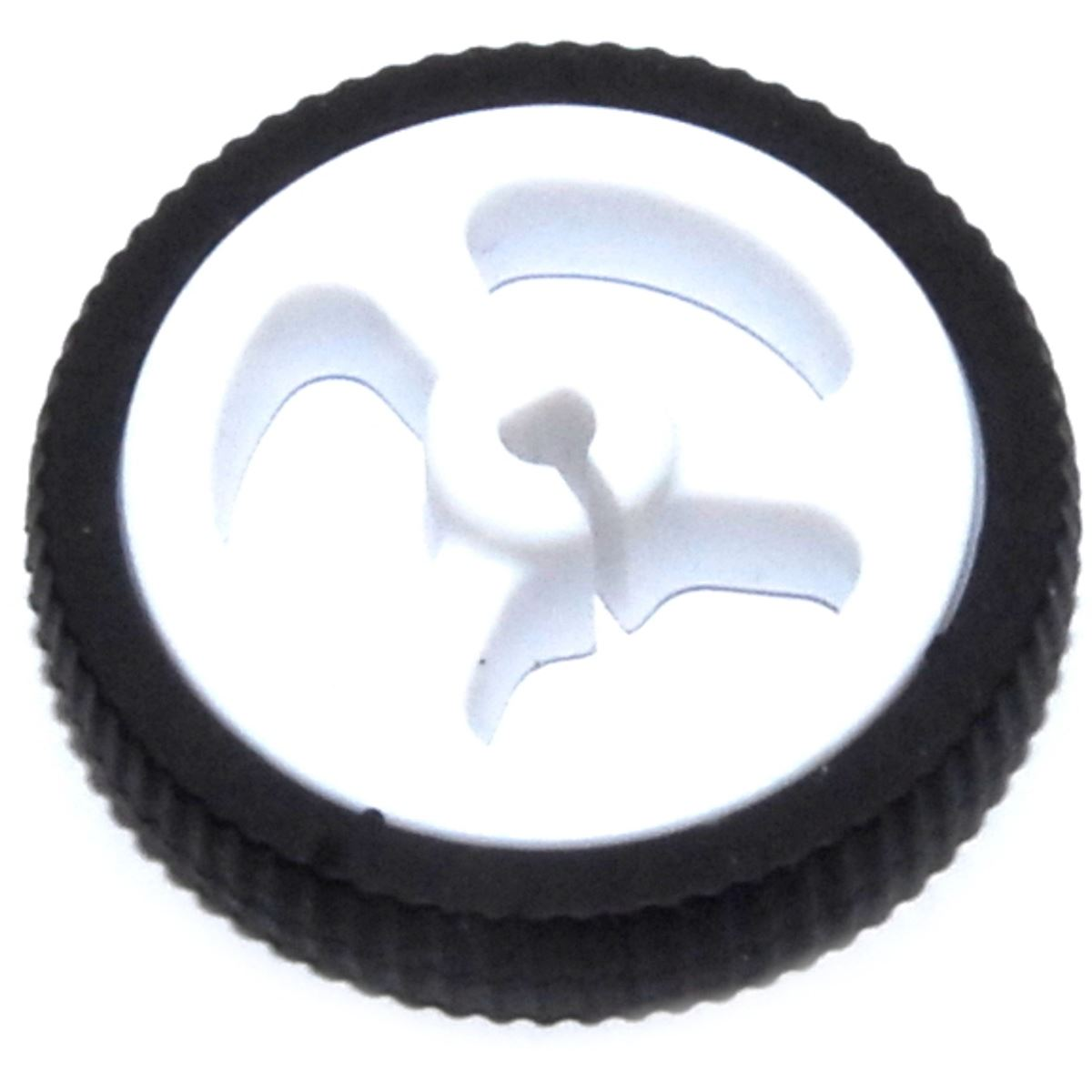 34mm White Wheel