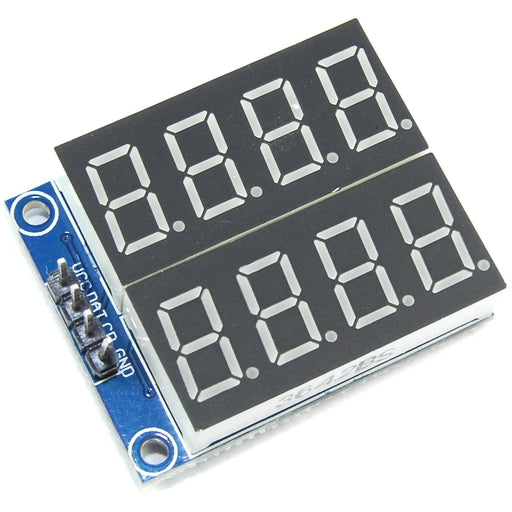 LC Technology 74HC164 2x4 7 Segment Red Display
