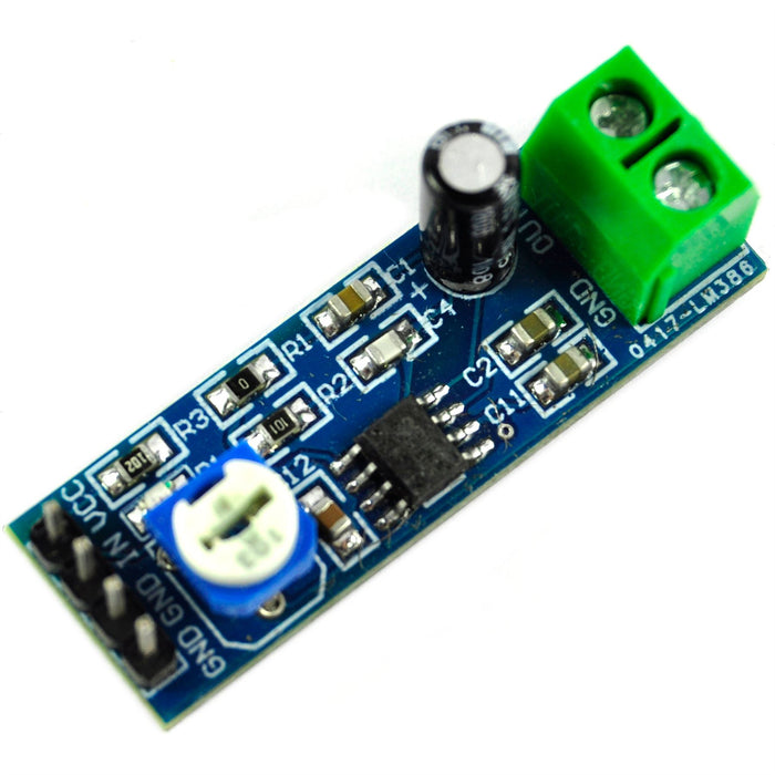 LC Technology LM386 200x Gain Amplifier Module