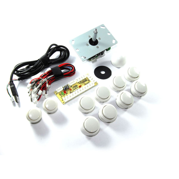 USB Arcade Gamepad Set