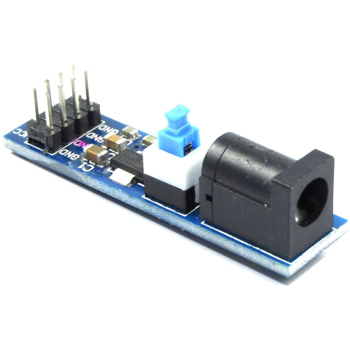 LC Technology 5.5mm DC Jack to 3.3 5V Breakout Module