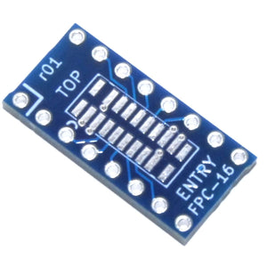 FPC-16 Top-Entry SFV-S to 16pin 2.54mm Connector Adapter Module