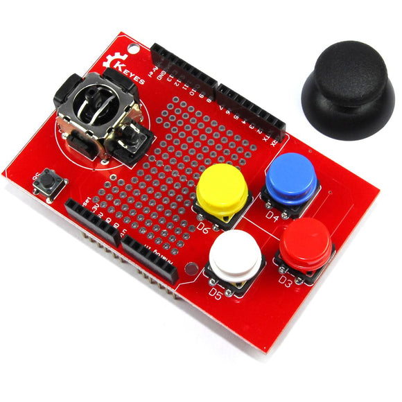 Keyes Joystick Keypad Shield
