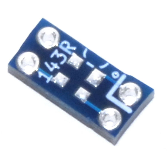 SOT-143/SOT-143-R to 4pin 2.54mm Adapter Module