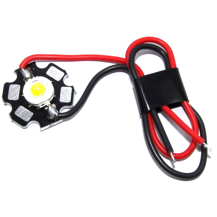 3W LED Module - Yellow/Warm White - Prewired