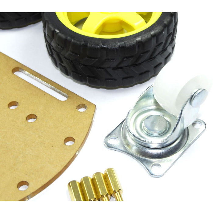 2 Wheel Robotic Car DIY Kit
