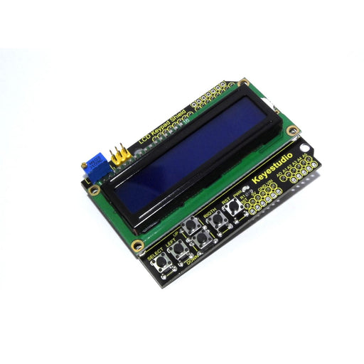 Keyestudio 16x2 Blue Keypad Shield