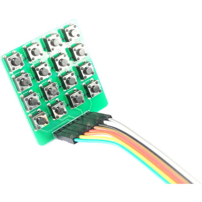 4x4 Matrix Micro Switch Keypad Module