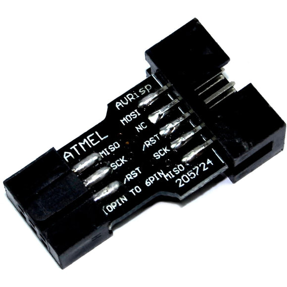 10 to 6 Pin Adapter for AVRISP