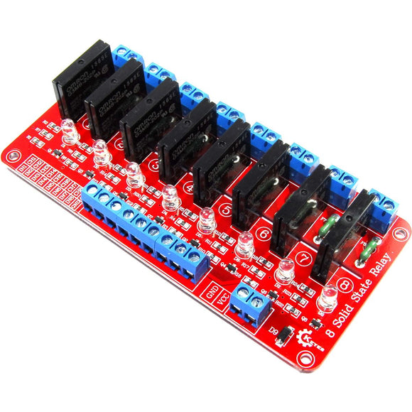 Keyes 5V 8 ch. Solid State Relay Module
