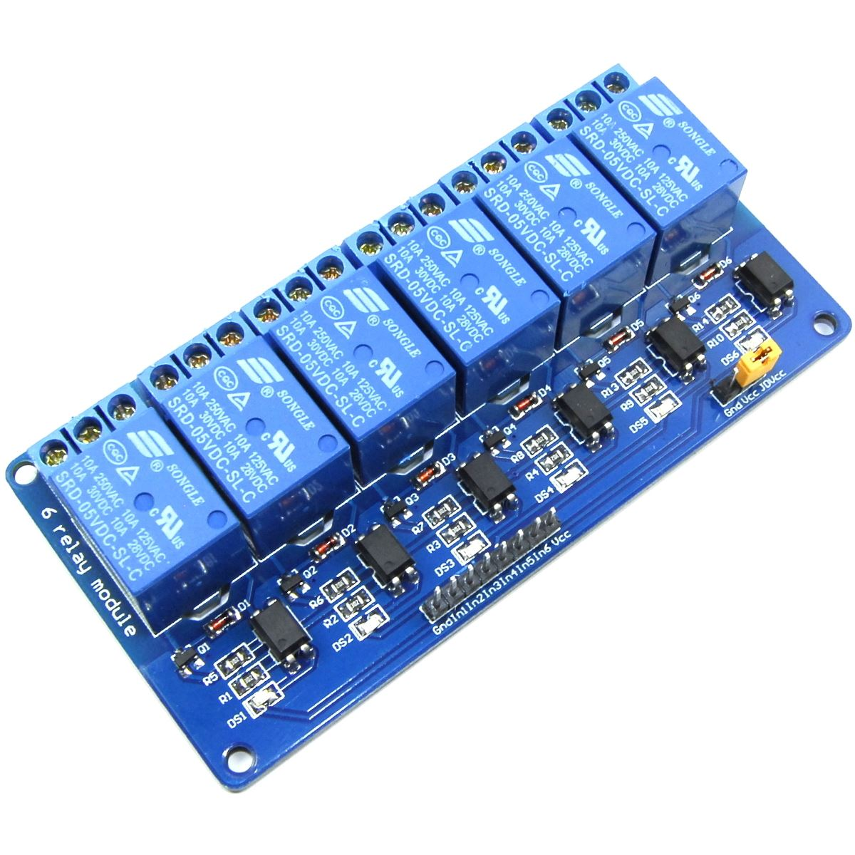 5V 6 Channel Relay Module