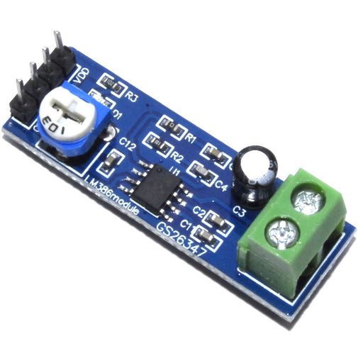 LM386 200x Gain Amplifier Module