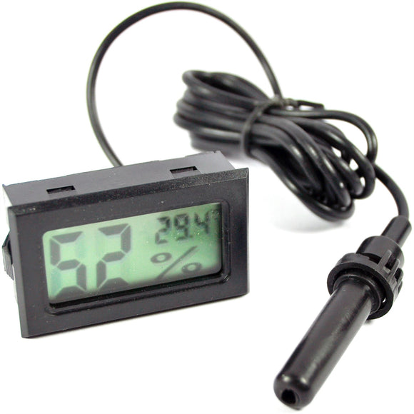 LCD Hygrometer with Probe