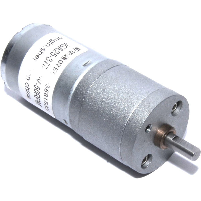 50RPM Geared DC Motor