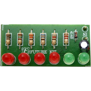 Future Kit 6 LED MONO VU Meter DIY Kit