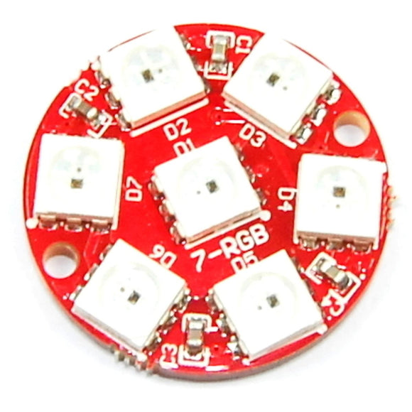 Keyes 7 LED Ring WS2812 5050 RGB Module
