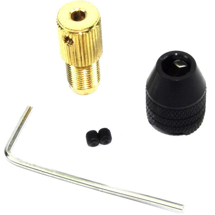 0.3-3.4mm Twist Collet - 3.17mm Shaft - Allen Key
