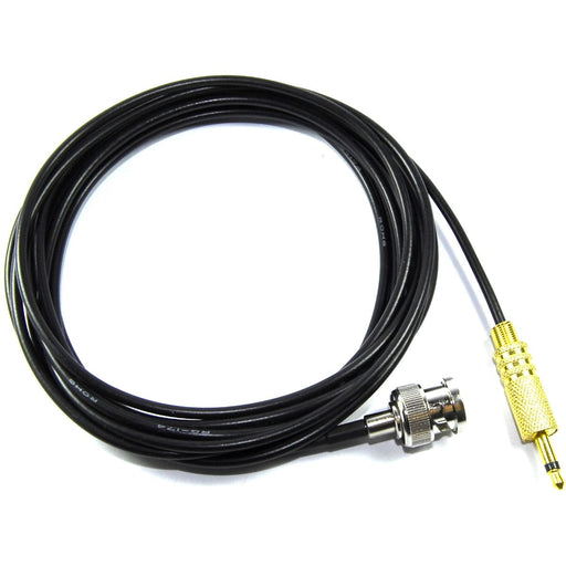 Male BNC to 3.5mm Male Mono Jack Adapter Cable