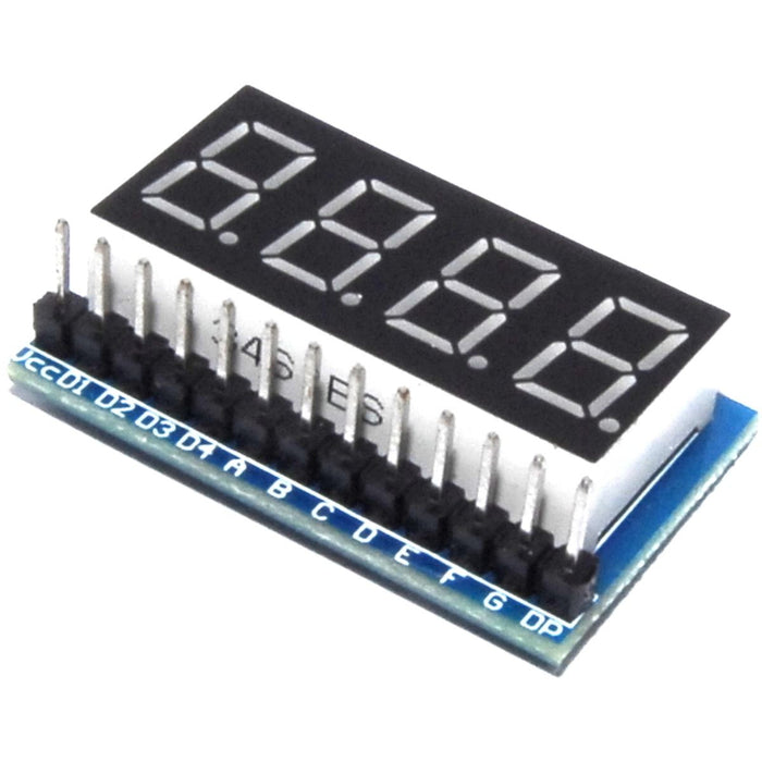 LC Technology Red 7 Segment Parallel LED Module