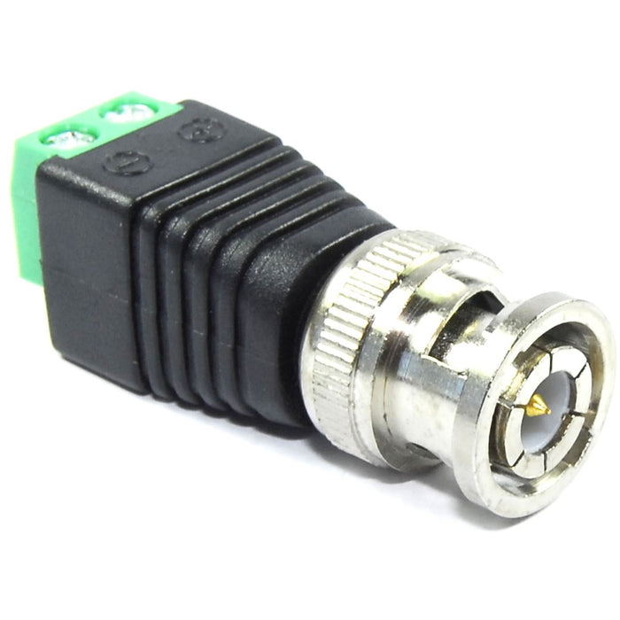 Male BNC Socket to Screw Terminal Adapter