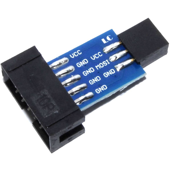 LC Technology 10 to 6 Pin Adapter for AVRISP