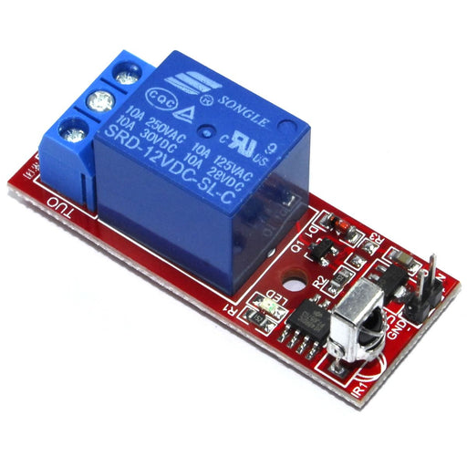 12V Infrared Relay Module and Remote