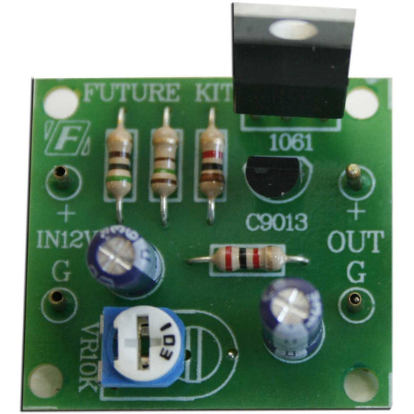 Future Kit 12V Step Down Regulator DIY Kit