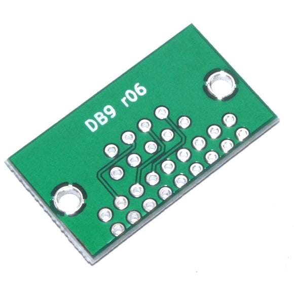 DB9 to 9pin 2.54mm Connector Adapter Module